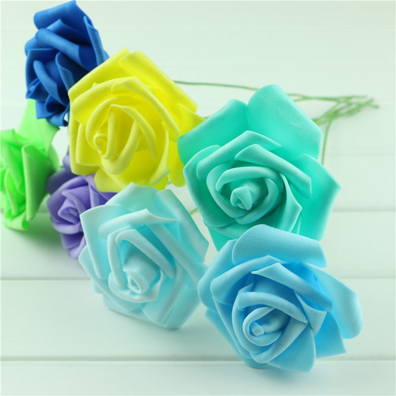 Handmade-Party-Festival-Wedding-Foam-Roses-Flower-with-Stem-DIY-Wedding-Bouquet-Flowers-Home-Floral-Decor (1)