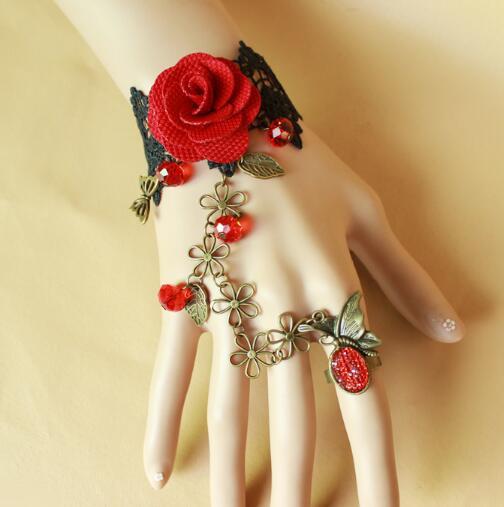 Heiße europäische Art-Legierungs-Sklaven-Rosen-Armband mit