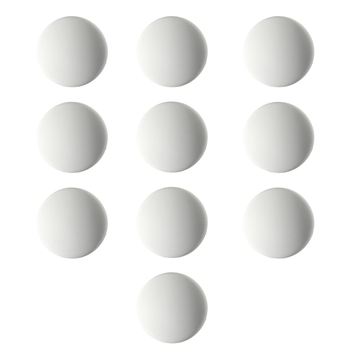 Rond 3,15 Pouce Blanc 4 Pi/èces Protecteurs Muraux en Silicone de Bouton de Porte Poign/ée de Porte Pare-Chocs Auto-Adh/ésif Bouton de Porte Arr/êt de Porte Garde de Mur en Caoutchouc