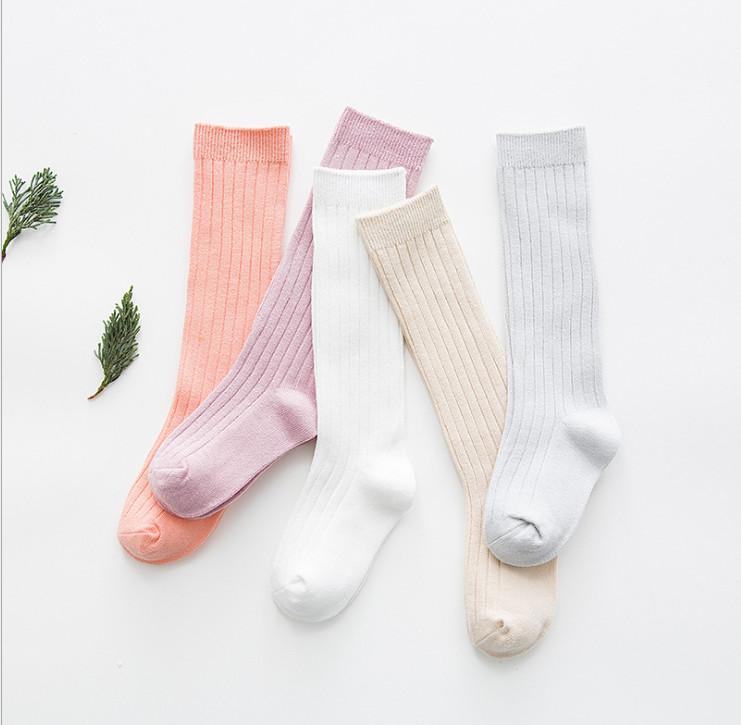 High Elasticity Girl Cotton Knee High Socks Uniform Fox Howling Women Tube Socks