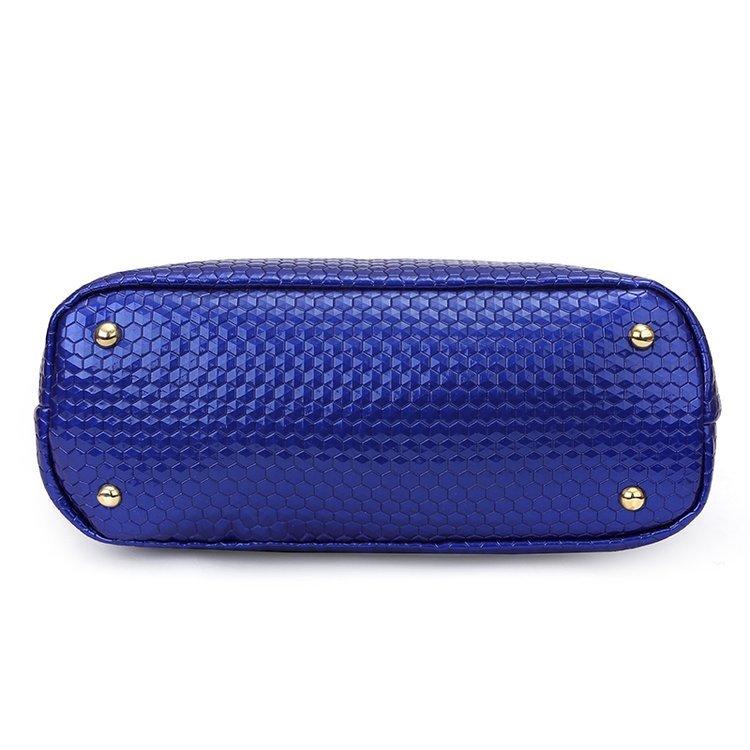 Luxury New Fashion Brand Designer Crocodile Patent Leather Composite Bag Handbag+Shoulder Messenger Bag+Clutche Purse Tote Y18102304