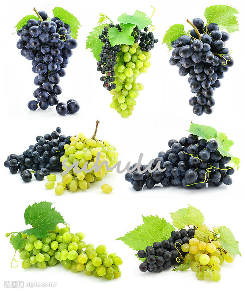 50 Pcs Rare Finger Grape Seeds,Advanced Fruit Seeds,Natural Growth Grapes Delicious Sweet Bonsai Potted Plants For Home&Garden Gift To Child