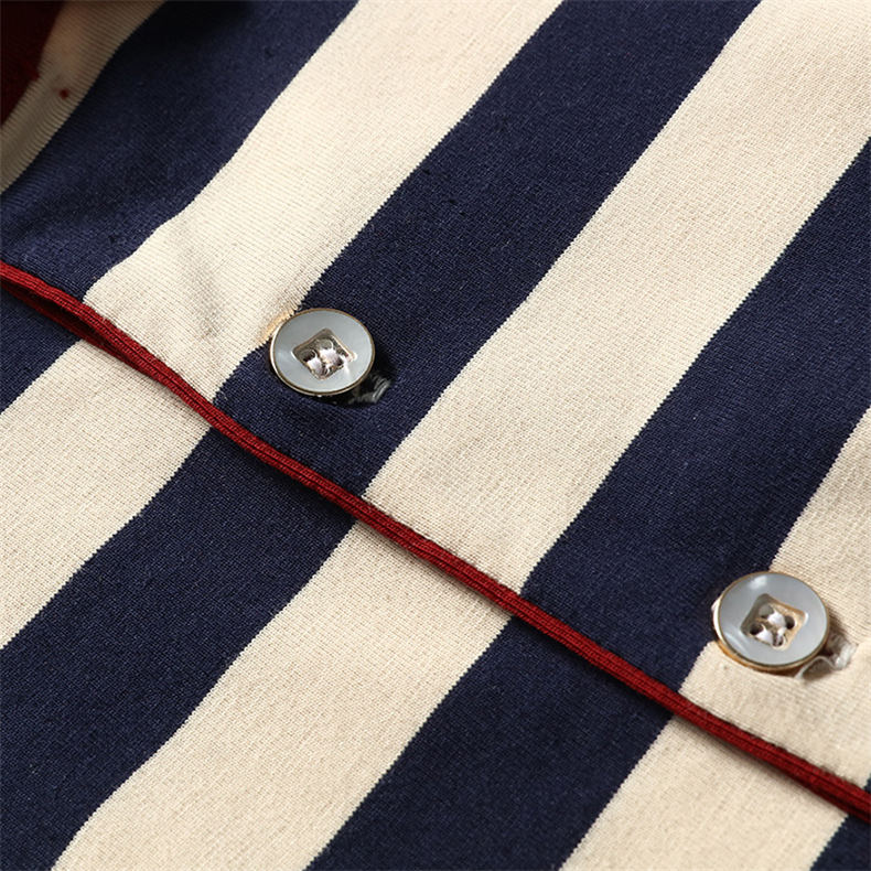 2018 Summer Mens Polo Shirt Classic Striped Cotton Short Male Polo Men Tees Breathable Quick Dry Plus Size 4XL Red Muls Brand-06