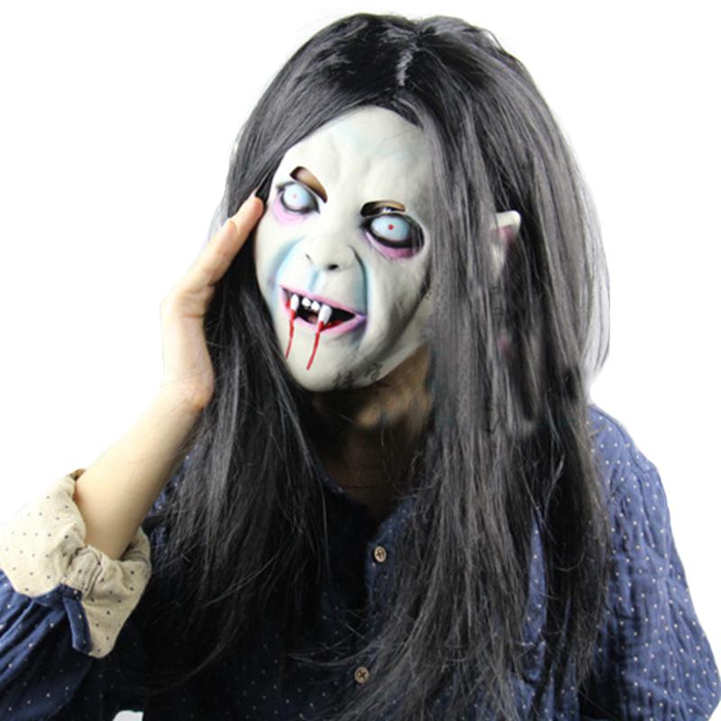 Creepy zucca di Halloween costume party maschera oggetti di scena