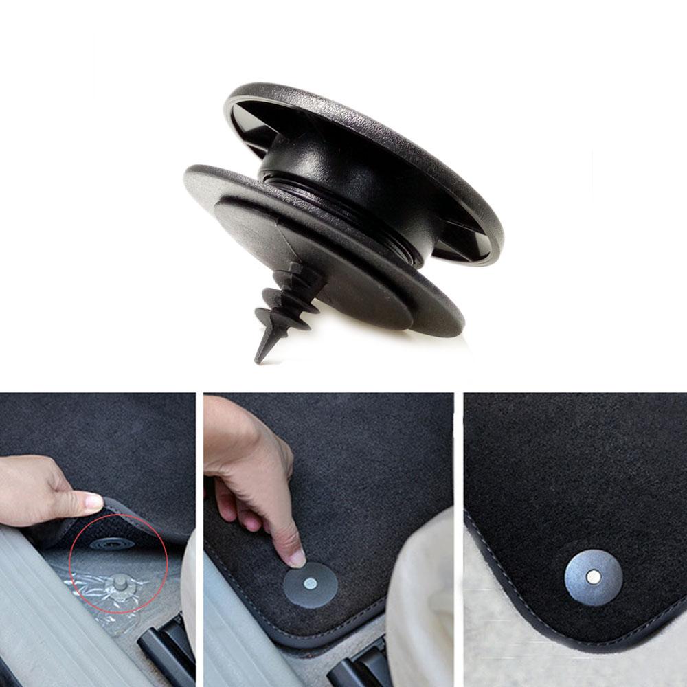 universal Car Foot Pad Carpet Fixed Rivet Clip Auto Fastener Clip for VW Nissan peugeot Subaru Toyota Honda Mazda