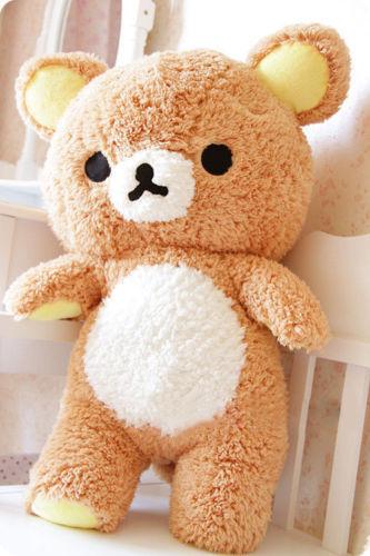 Rilakkuma Relax Bear San-X Cute Plush Stuffed Brown Pillow gift  Top Sale2019!!!