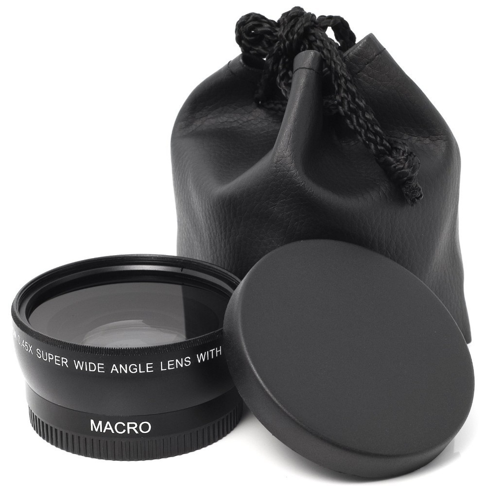 55mm wide angle lens