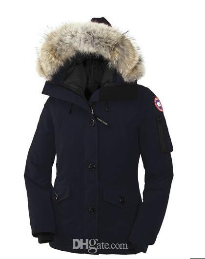 Winter outdoor canada jackets for women's thicken casual comfortable thickening warm down clothes women Goose down jacket winter coat