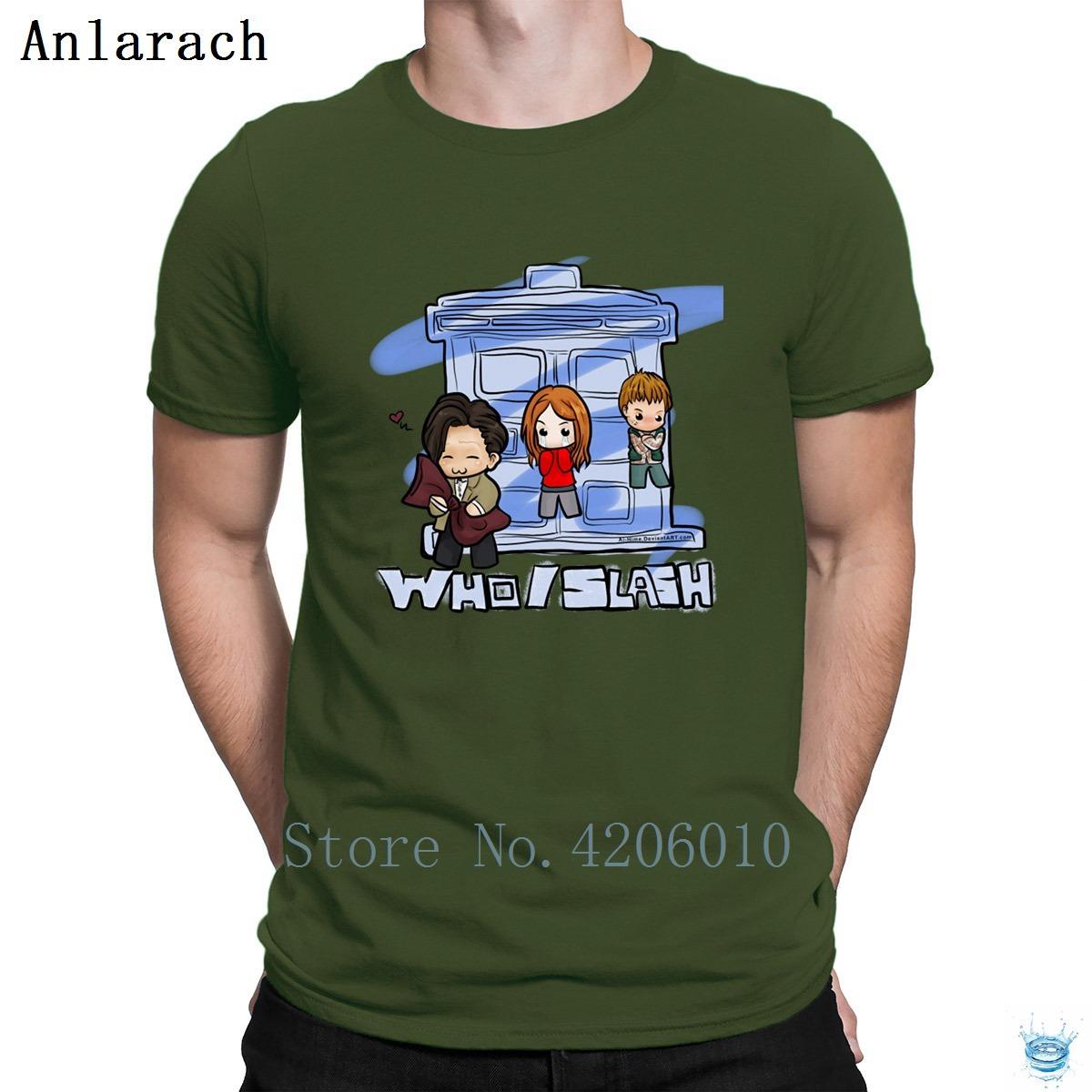 Slash Kurgu T-Shirt Sıcak Satış Özelleştirmek 2018 Kawaii erkek Tshirt Daha Iyi Giyim Anlarach Eğlenceli