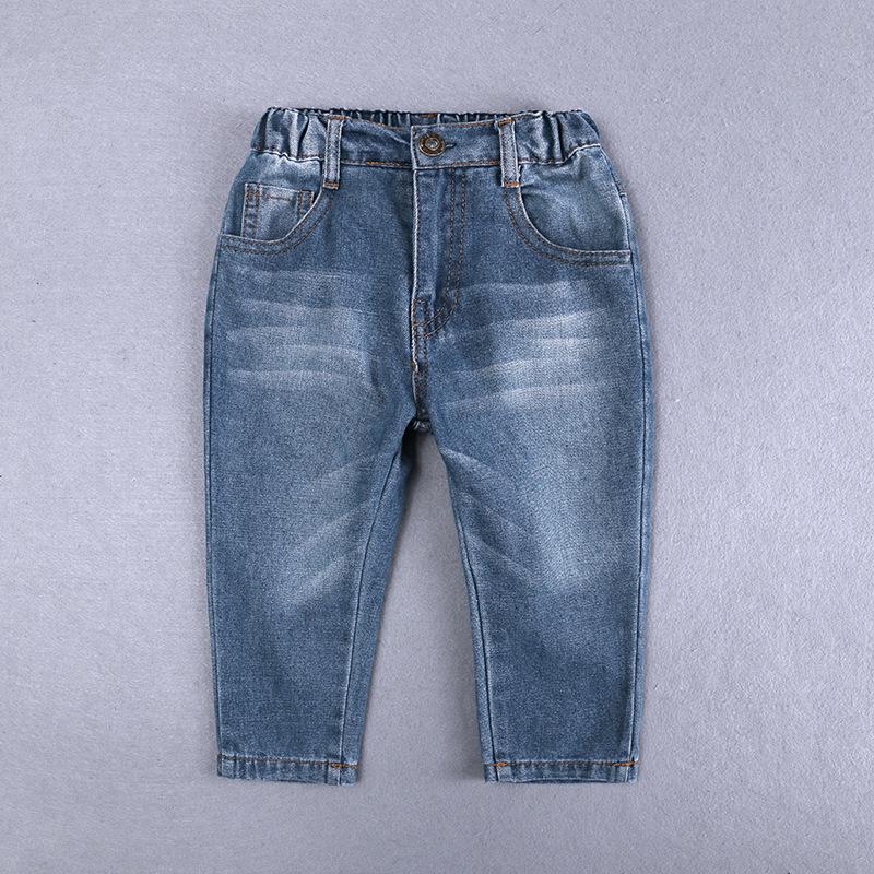 Baby Clothing Sets Kids Clothes Autumn Boys Sets Kids Long Sleeve Gentleman Suits Grid Shirts + Jeans Pants Boys set