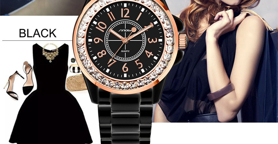 SINOBI Fashion Women Diamonds Wrist Watches (27)