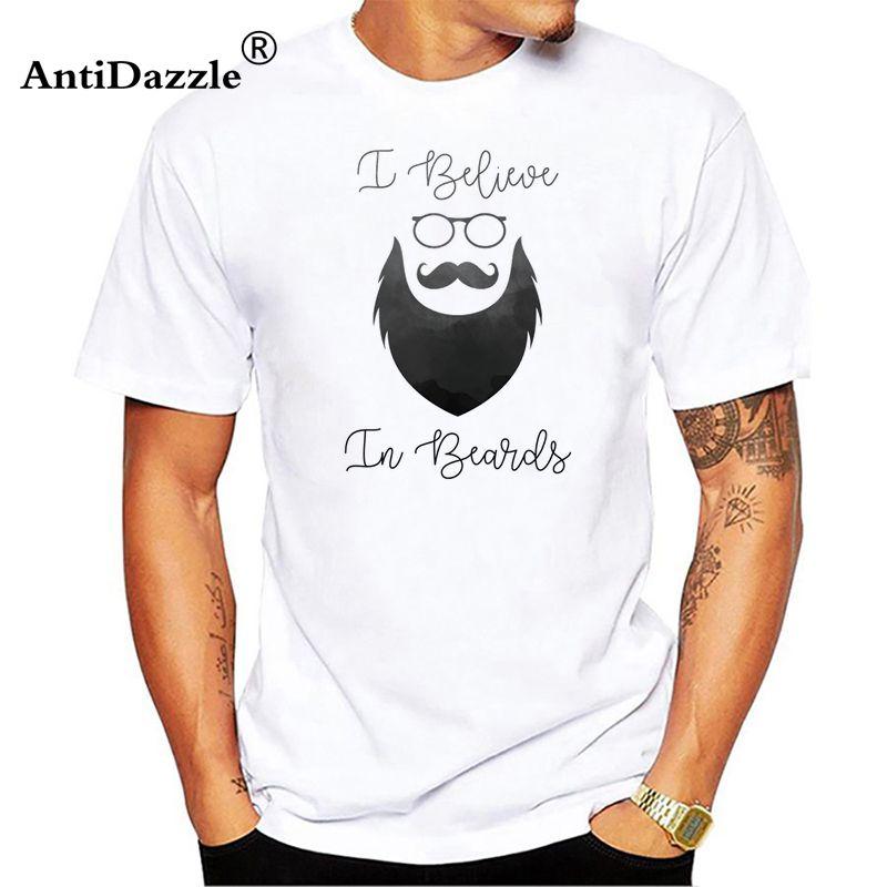 Antidazzle barbudo sinal REGATA BARBA CRÂNIO tshirt homens macio conforto Respirável t shirt homme Manga Curta barbas T-shirt engraçado