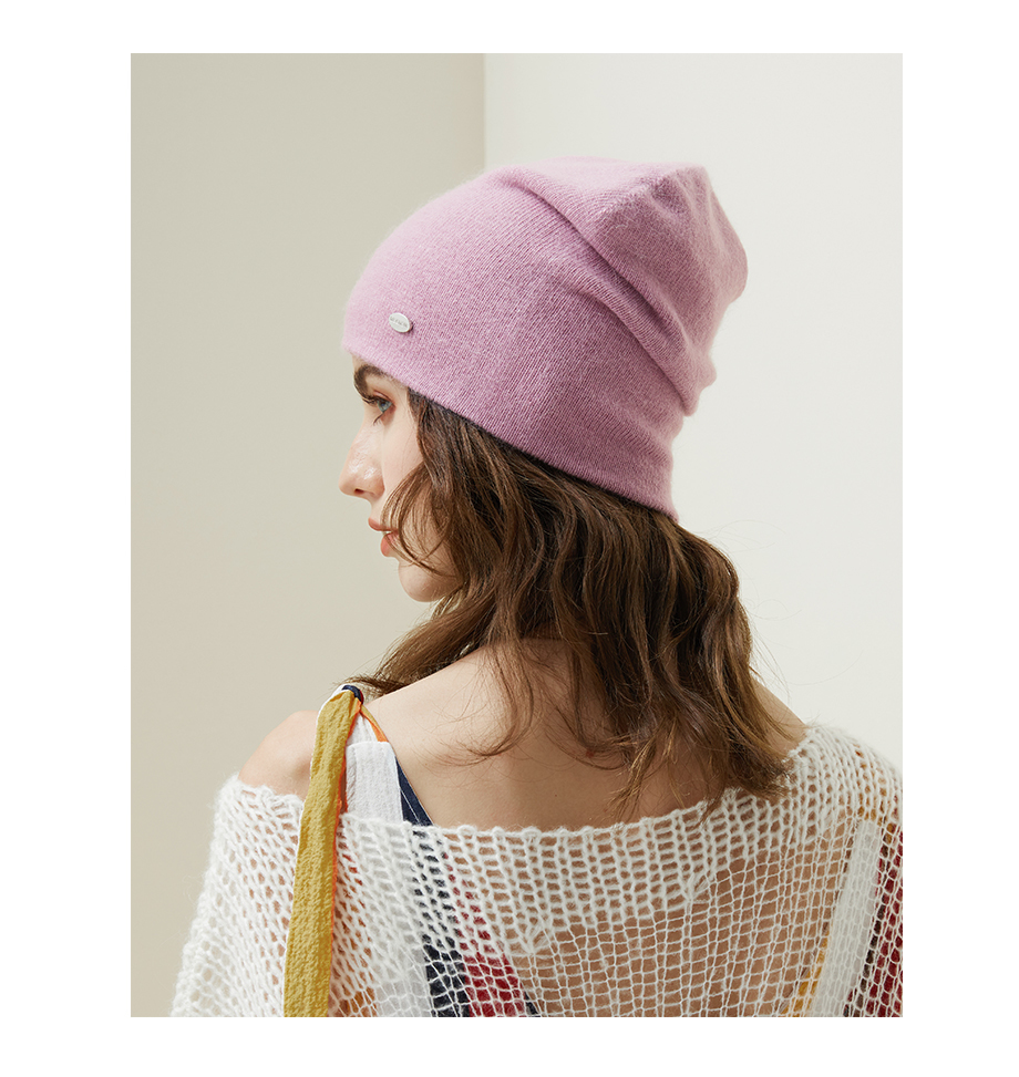 Winter Hats For Woman 2018 New Beanies Knitted Solid Cute Hat Girls Autumn Female Beanie Warmer Bonnet Ladies Casual Cap 8 Color (18)