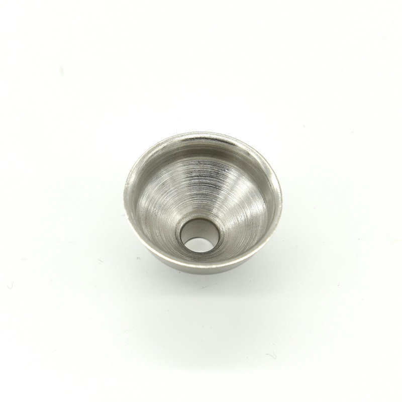 37x28mm 304 Stainless Steel Mini Funnel for Liquor Alcohol Whiskey Hip Flasks Essential Oil Perfume Fill Transfer wen6748