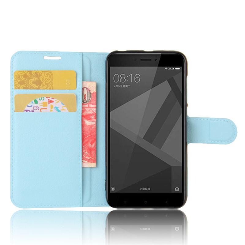 For Xiomi Xiaomi Redmi 4X Case 5.0 inch Wallet PU Leather Cover Phone Case For Xiaomi Redmi 4X 4 X Case Silicone Flip Back Bag (28)