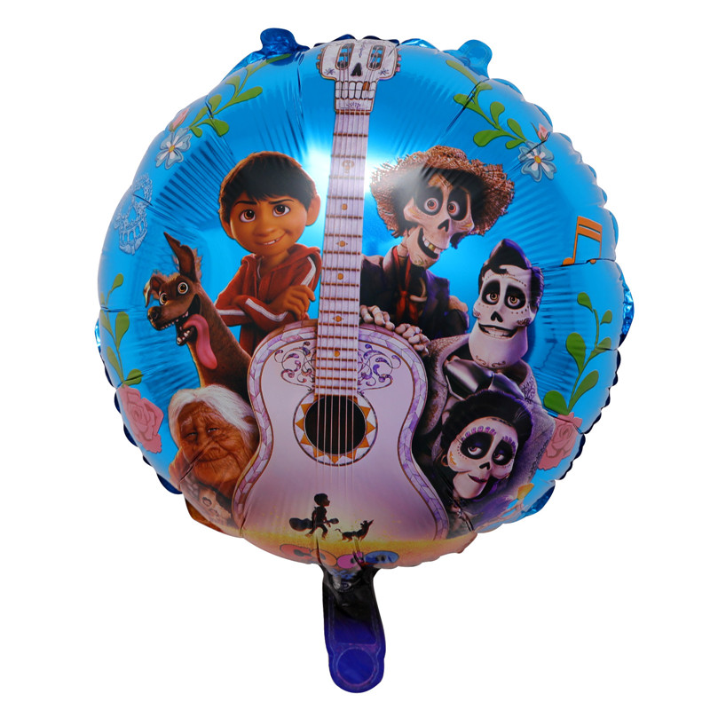 New-50pcs-Happy-Birthday-Balloons-Hot-Movie-COCO-Toys-Children-Gifts-toy-Children-s-Day-Decoration
