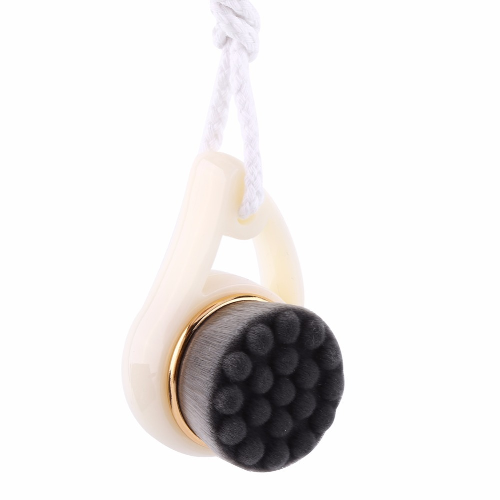 Soft Hair Face Wash Brushes Bamboo Charcoal Facial Cleansing Brush Massage Pore Cleanser Face Beauty Skin Care Cleaning Tools
