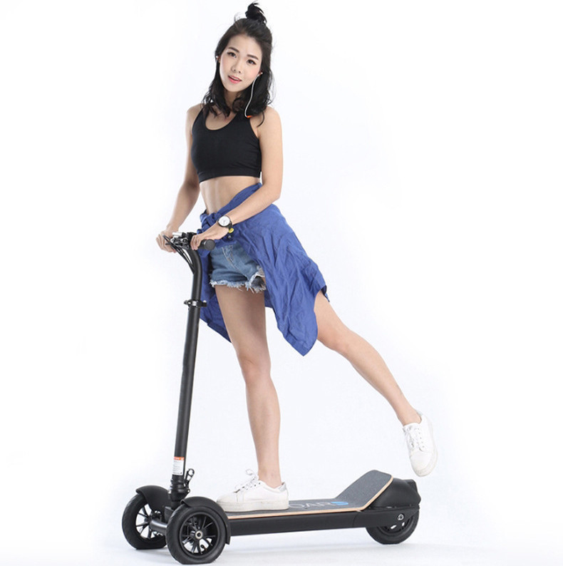 Daibot Electric Scooters Adults 3 Wheels ES Board Self Balancing Scooters 450W Brushless Motor Kids Foldable Electric Skateboard (17)