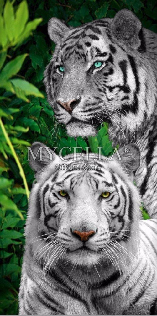 Tier Weißer Tiger Diamant Stickerei 5D DIY Diamant Malerei Kreuzstich Bild Voll quadrat Diamant Mosaik Wohnkultur