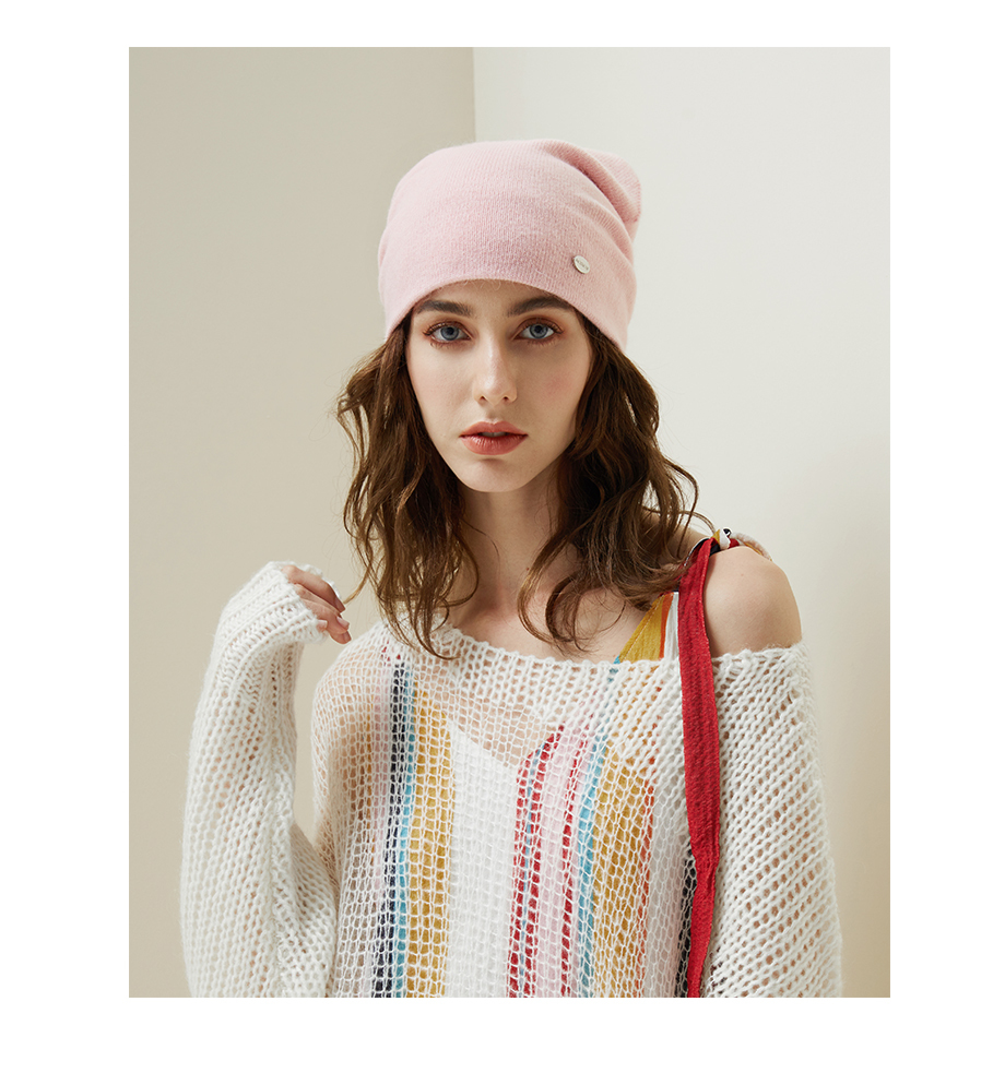 MOSNOW Female Beanies For Girls Cotton High Quality Hat Soft Fashion Accessory Winter New Headwear Brand Hats For Women3 (21)