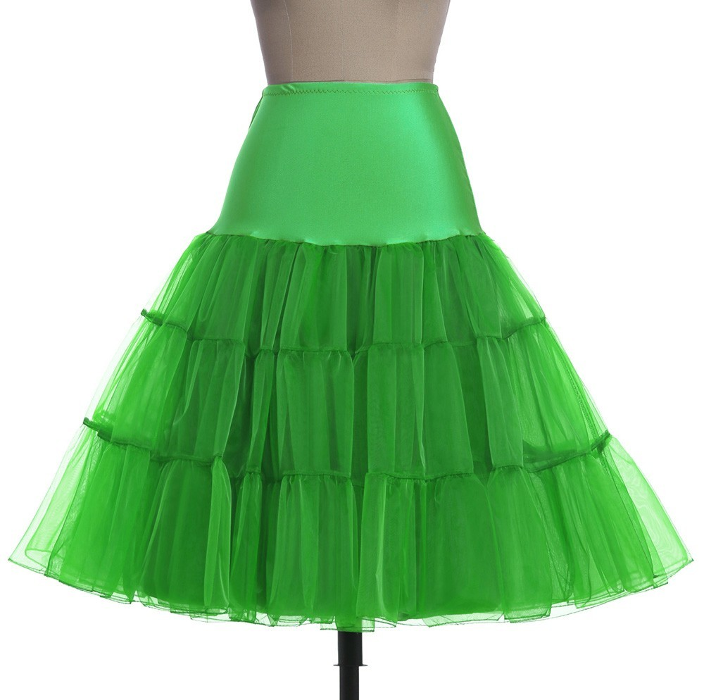 cb9763259b8731 Tutu Rock Silps Schaukel Rockabilly Petticoat Unterrock Krinoline  flauschigen Pettiskirt für Hochzeit Braut Retro Vintage Frauen KleidUSD  8.38/Stück