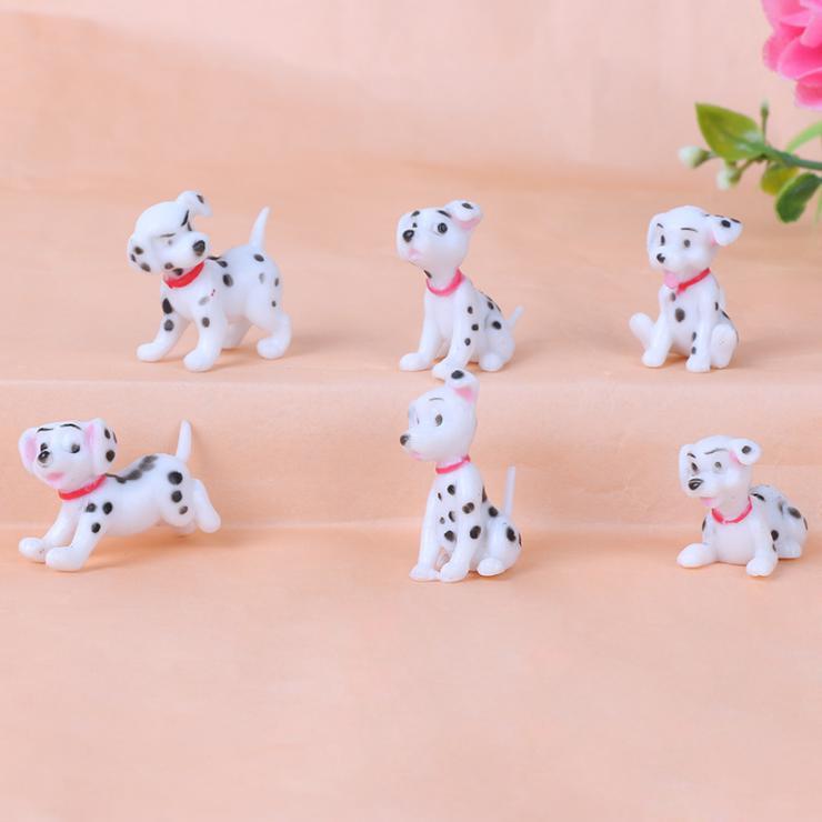 Escala 1:12 Casa De Muñecas Resina Perro Cachorros Mascota Animal Accesorio De Jardín D9