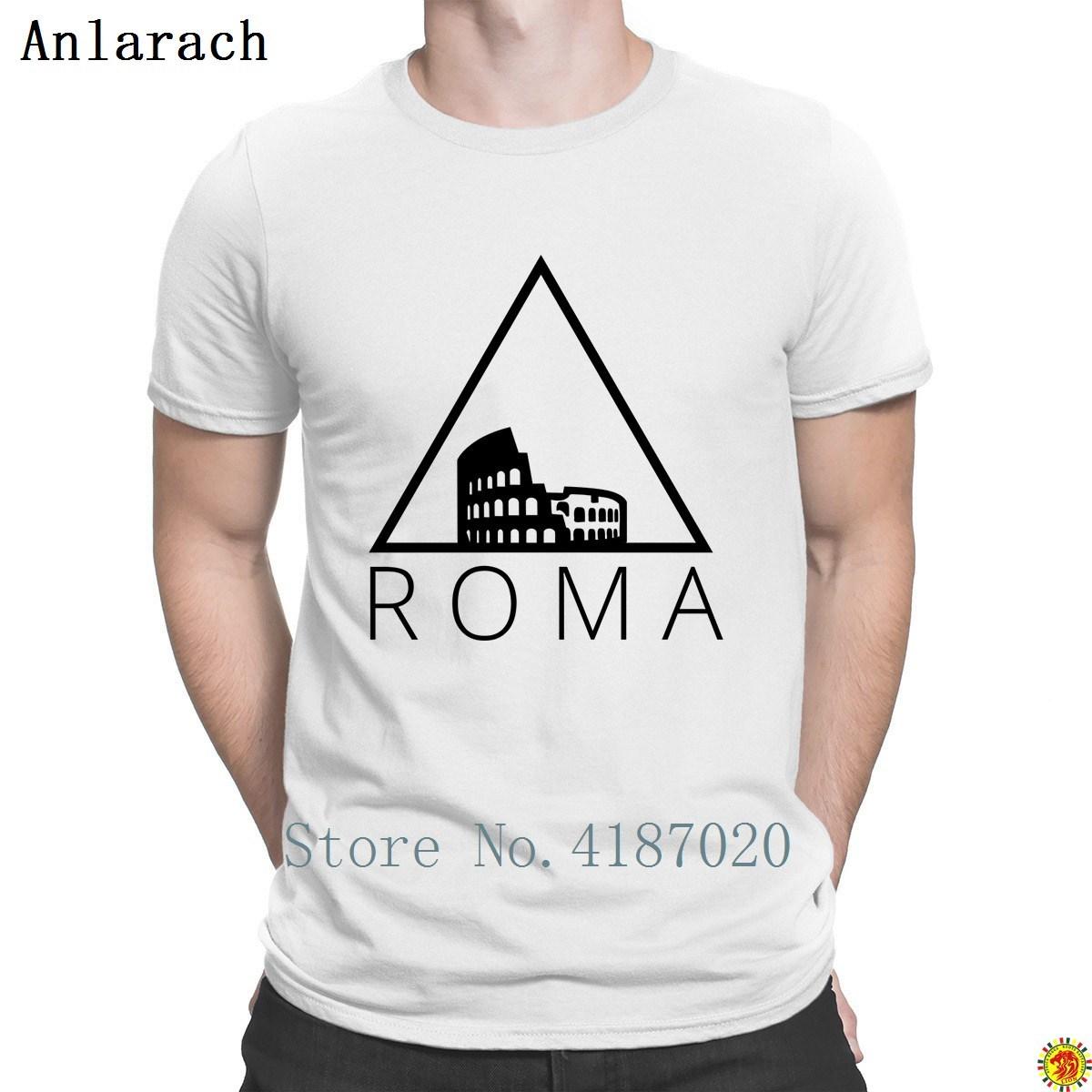Roma Hipster Dreiecke T-shirts Buchstaben Angepasst Lustig T Tops Herren T-Shirt Frühling Herbst Ausgestattet Kurzarm Heißer Verkauf