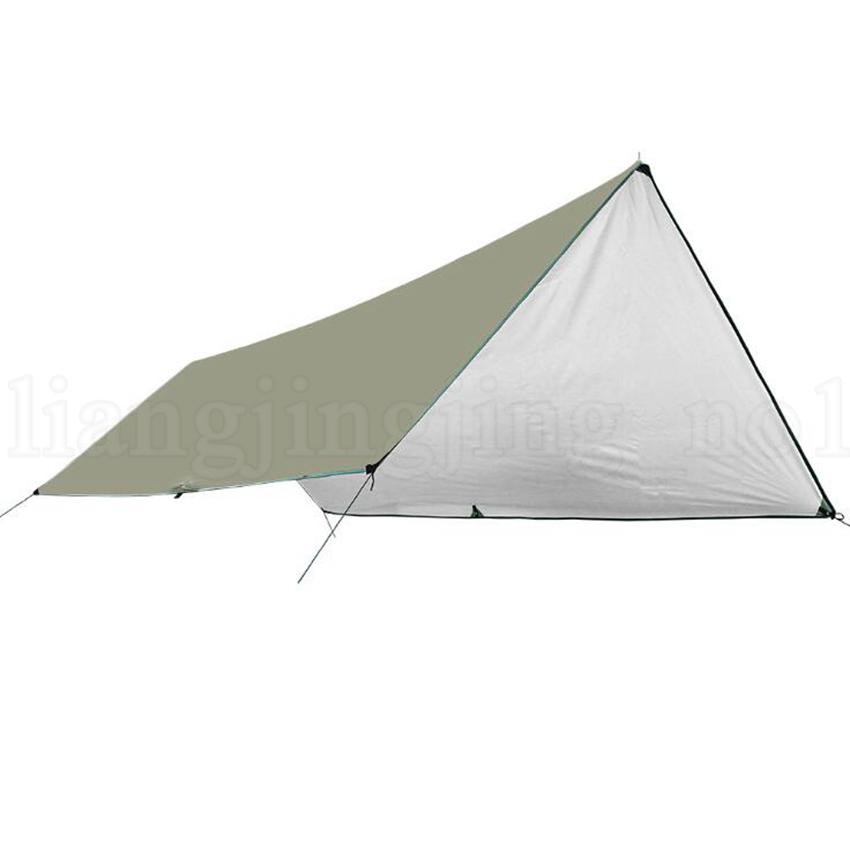 Tapis de camping étanche 3 * 4M Matelas Tente Extérieure En Tissu Multifonction Auvent Bâches Auvent Tapis De Pique-Nique Tapis De Sol Tapis LJJO5662