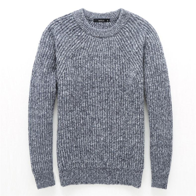 4Colors Heavy-Knit Sweater Men Pullovers Thick Winter Warm Sweater Jumpers Women Autumn Male Female Dress knitwear Plus size 4XL-01