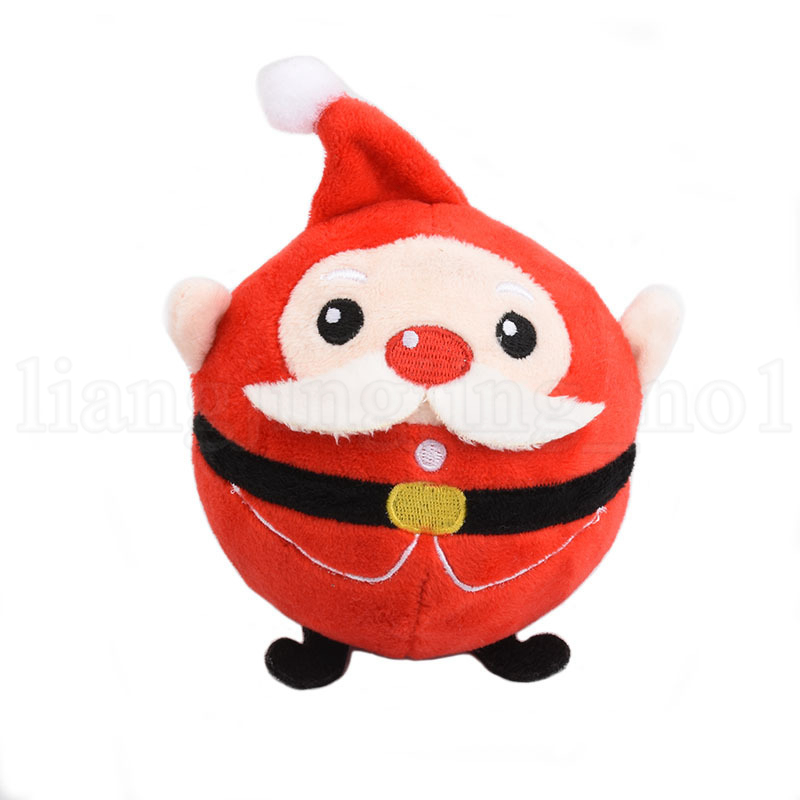 Santa Reindeer Plush Toy PU Squishy Slow Rising Foamed Stuffed Plush Doll Baby Kids Children Xmas Toys Gift OOA5747