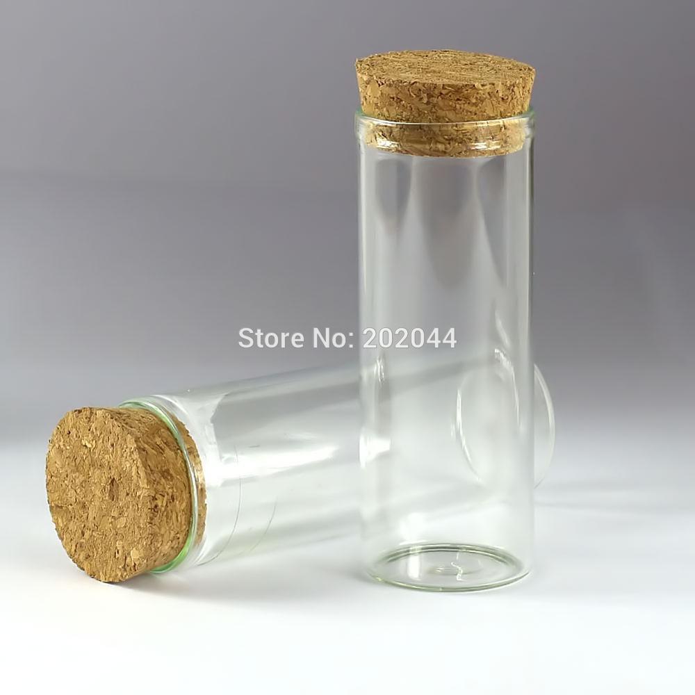 Lots 10 unit 4ml 22x28mm Empty Tiny Small Clear Cork Message Glass Bottles Vials