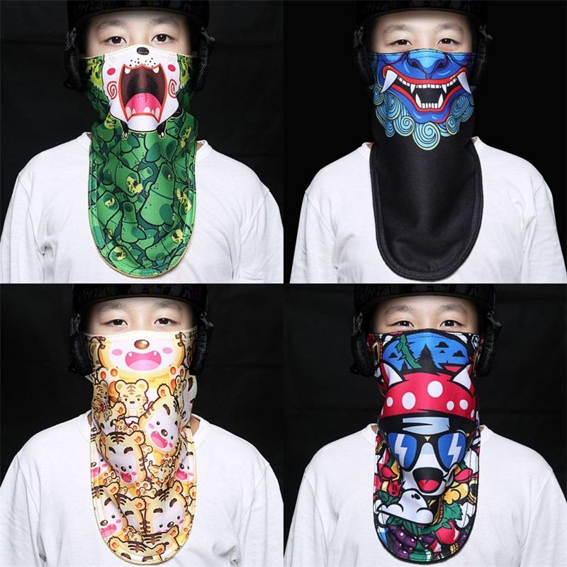 maske halbe gesicht kopfbedeckungen fahrrad schützenden schal wind kostüm