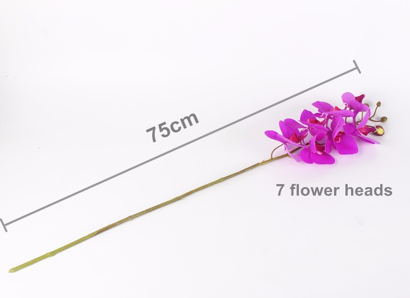 Artificial Orchid Flowers Real Touch Artificial Butterfly Orchid flores artificiales Wedding decoration home Festival Decoration (9)