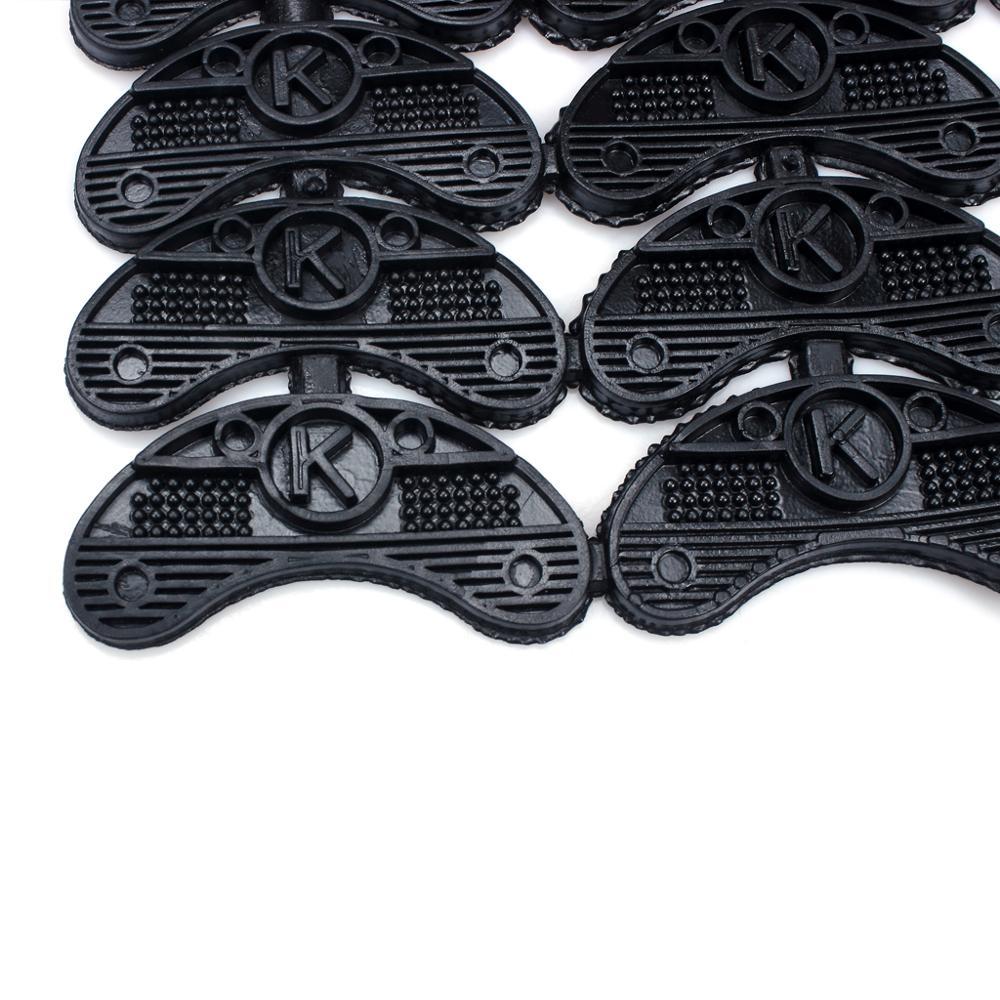 Set Of 40Pairs Shoes Boots Sole Heel Repair Pad Guard Plate For Boot Shoe Repair Kit Black 52.80 (5)