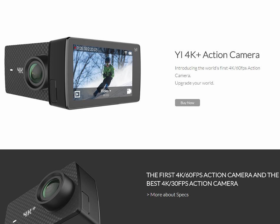 XIAOYI YI 4K+ ACTION SPORTS CAMERA 15