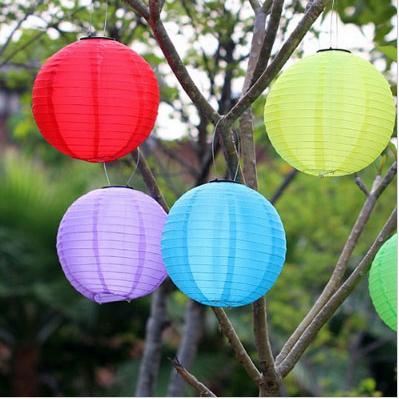 Weatherproof Solar LED Garden/Patio Chinese Lanterns (3)