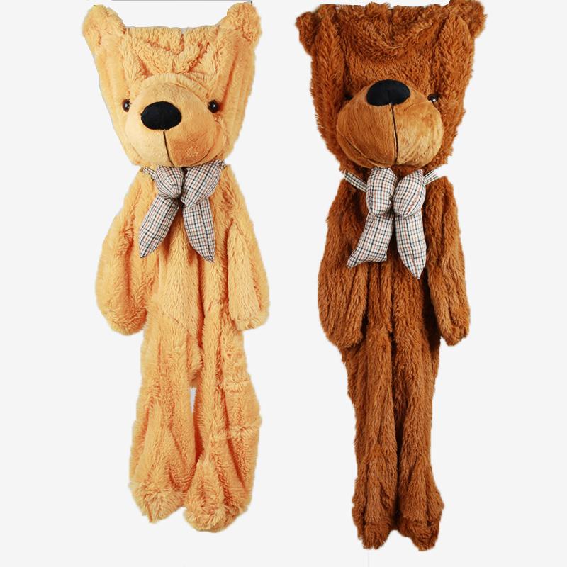 Teddy Bear Skins Plush Soft Toy Dolls Giant empty Bear animal skins shell for kids Cute Peluche Animal Stuffed Toys Gifts (7)