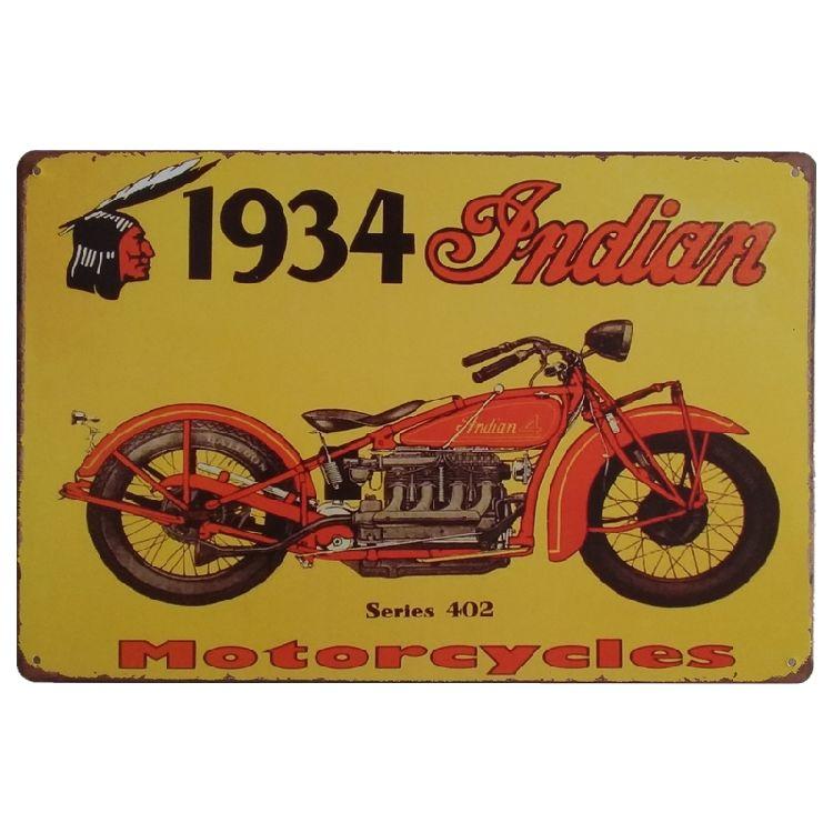 Metal Tin Sign légendaire Scout moteur Bar Pub Accueil Rétro Vintage Poster CAFE ART
