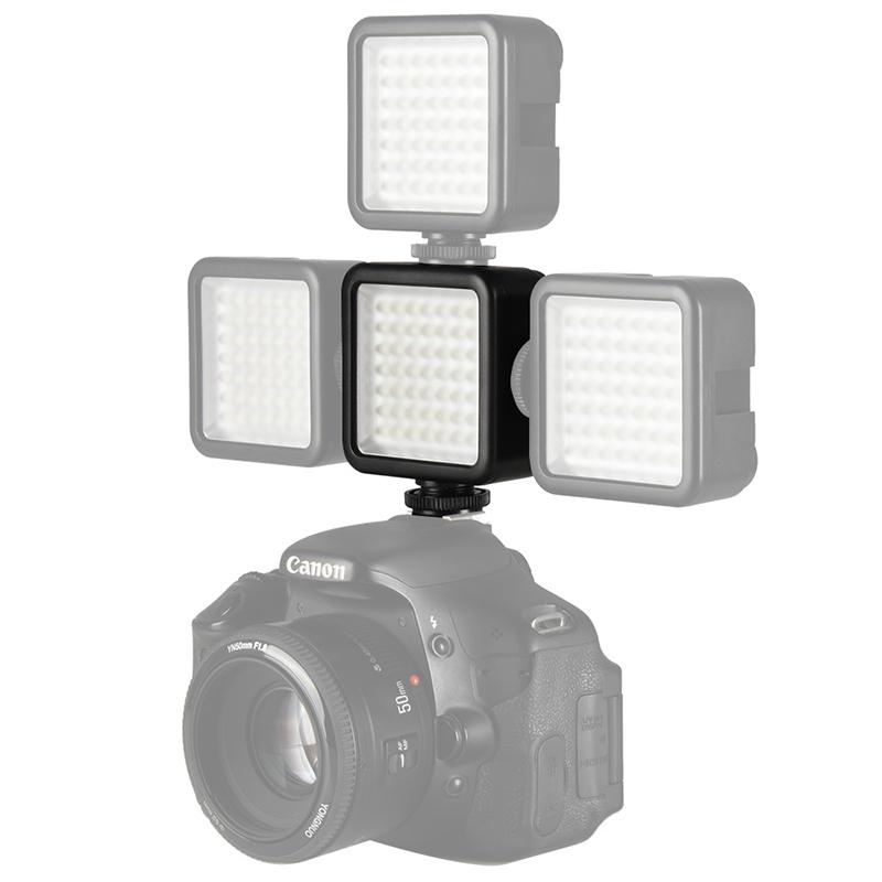 on camera vlogging video light
