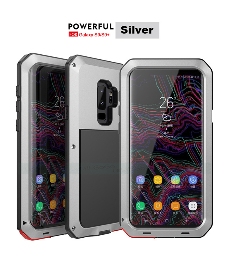 Samsung Galaxy S8 S9 Plus Note 8 9 shockproof phone cover case 20