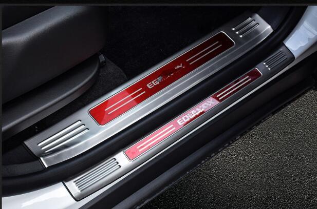 4pcs Door sill scuff plate Guard Sills Fit For Chevrolet Cruze 2010-2015