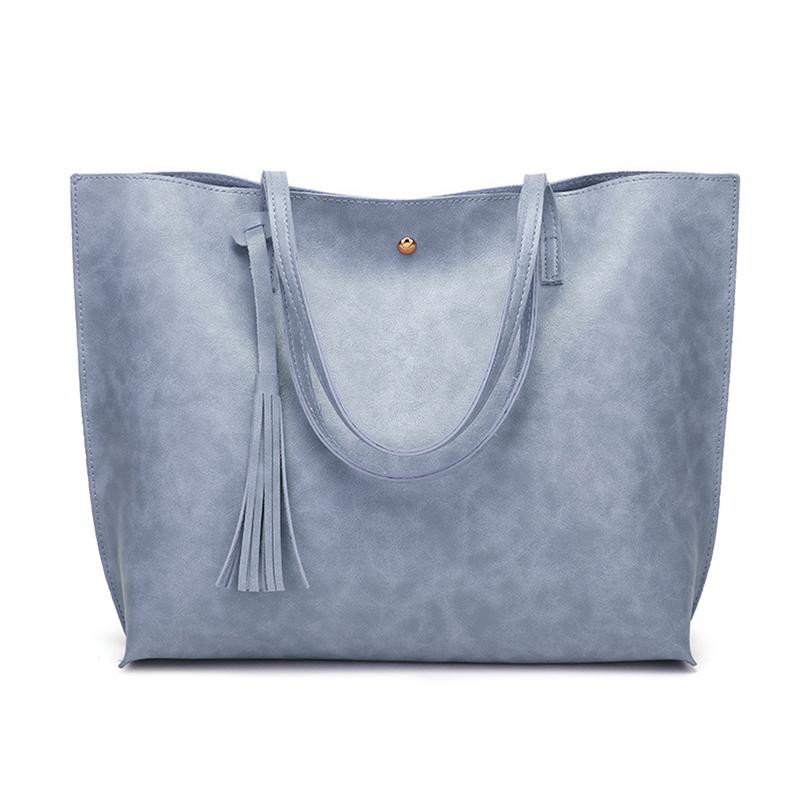 Nevenka Leather Handbag Women Casual Totes Female Shopper Ladies Shopping Bags Large Capacity Bags Vintage Bag for Women 201811