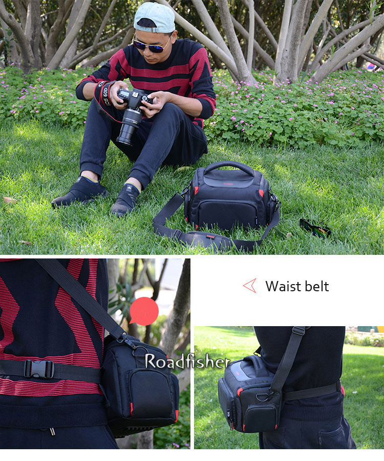 Camera shoulder bag for Canon EOS-9