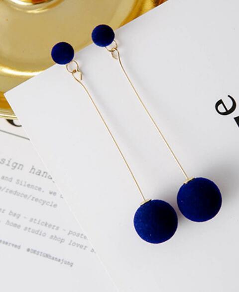 Boucles d`Oreilles Clous Argenté Strass Petit Perle Noir Class Retro D6