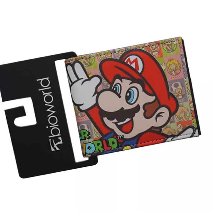 Brand New Super Mario World Mario /& Luigi Wallet Men/'s Kid/'s Cartoon US SELLER!!