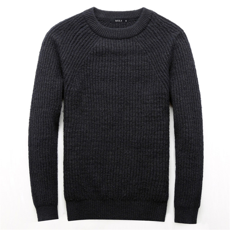 4Colors Heavy-Knit Sweater Men Pullovers Thick Winter Warm Sweater Jumpers Women Autumn Male Female Dress knitwear Plus size 4XL-03
