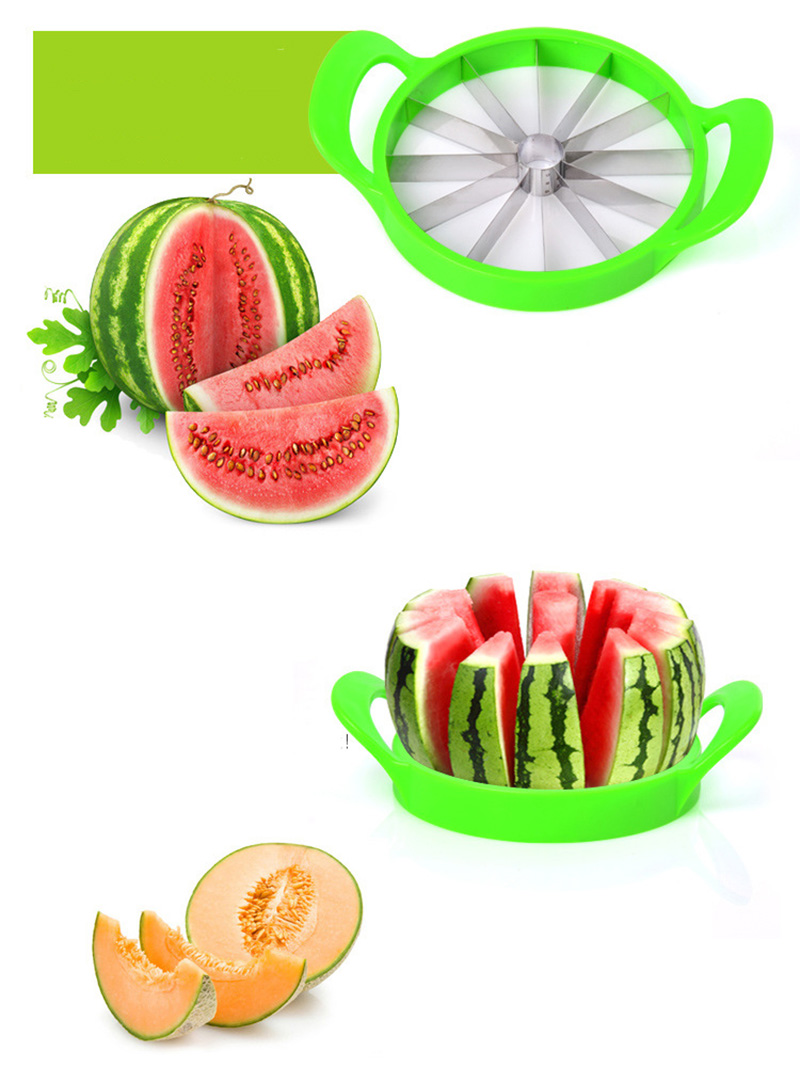 Kitchen gadgets 2018 Summer Stainless Steel Watermelon Sliced cutter knife fruit Slicer Salad Making tools kitchen accessories (17)
