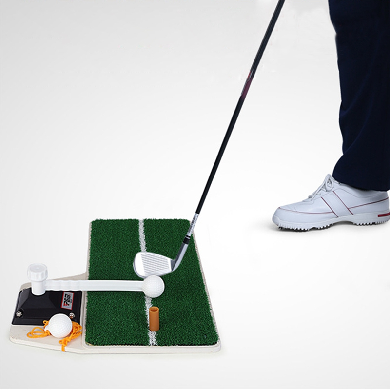 2019 Wholesale Brand Golf Practice Mat Golf Swing Exercises Foldable Portable Indoor Outdoor Sport Golf Training Hitting Practice Mat From Yigu004