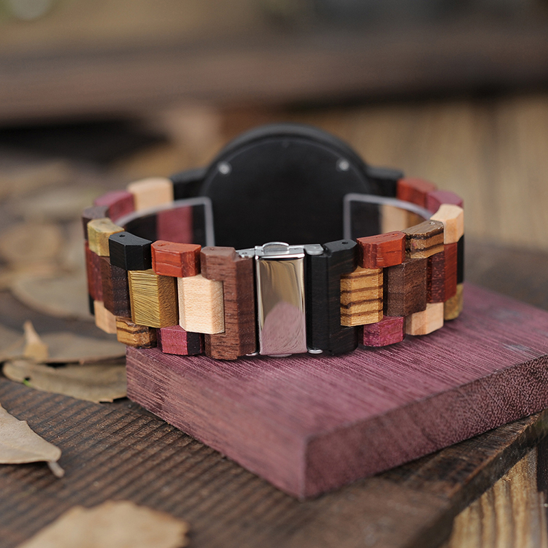 wooden watches for men bobo bird wrist watch (15)