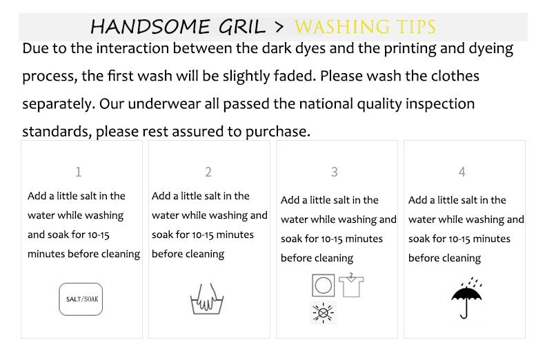1. Washing Tips